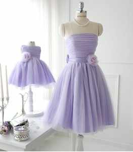 df271f20ed3a7 ... Mommy and Me Clothes Mom and Daughter Dress Wedding Formal Off Shoulder  Family Matching Outfits Plus ...