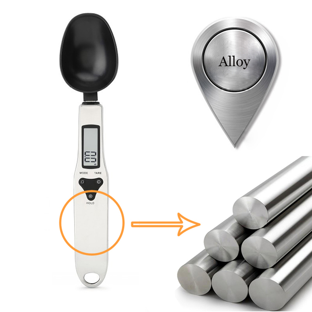 Lcd electronic measuring spoon 0.1g