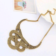 2016 New Hot fashion necklace party well, chunky luxurious necklace statement necklace