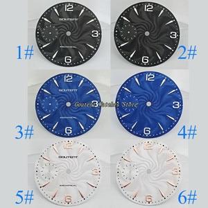 "Image 1 - 36.8 מ""מ Goutent שעון חיוג ערכת ETA 6497, שחף st36 מכאני גברים של שעון פרצופים (6 סגנונות של פרצופים)"
