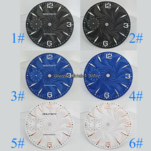 36.8mm Goutent Watch Dial Kit ETA 6497,Seagull st36 Mechanical Mens Watch Faces (6 Styles of Faces)