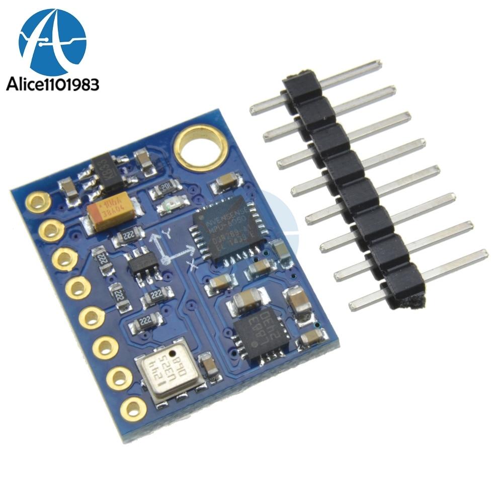 1Set GY-87 HMC5883L MPU6050 BMP180 10DOF Sensor Board Module GY87 For Arduino 5V Power High Accurancy1Set GY-87 HMC5883L MPU6050 BMP180 10DOF Sensor Board Module GY87 For Arduino 5V Power High Accurancy