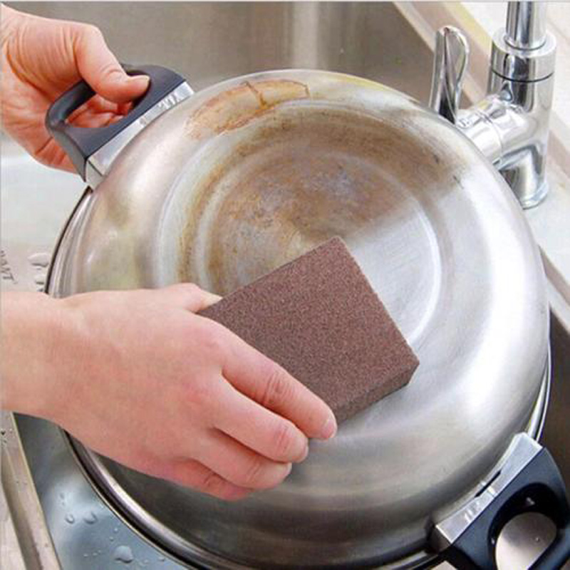 Sponge Kitchen Nano Emery Magic Cleaner Rub the Pot Except Rust Focal Stains Sponge Cleaning Accessories Removing Tool
