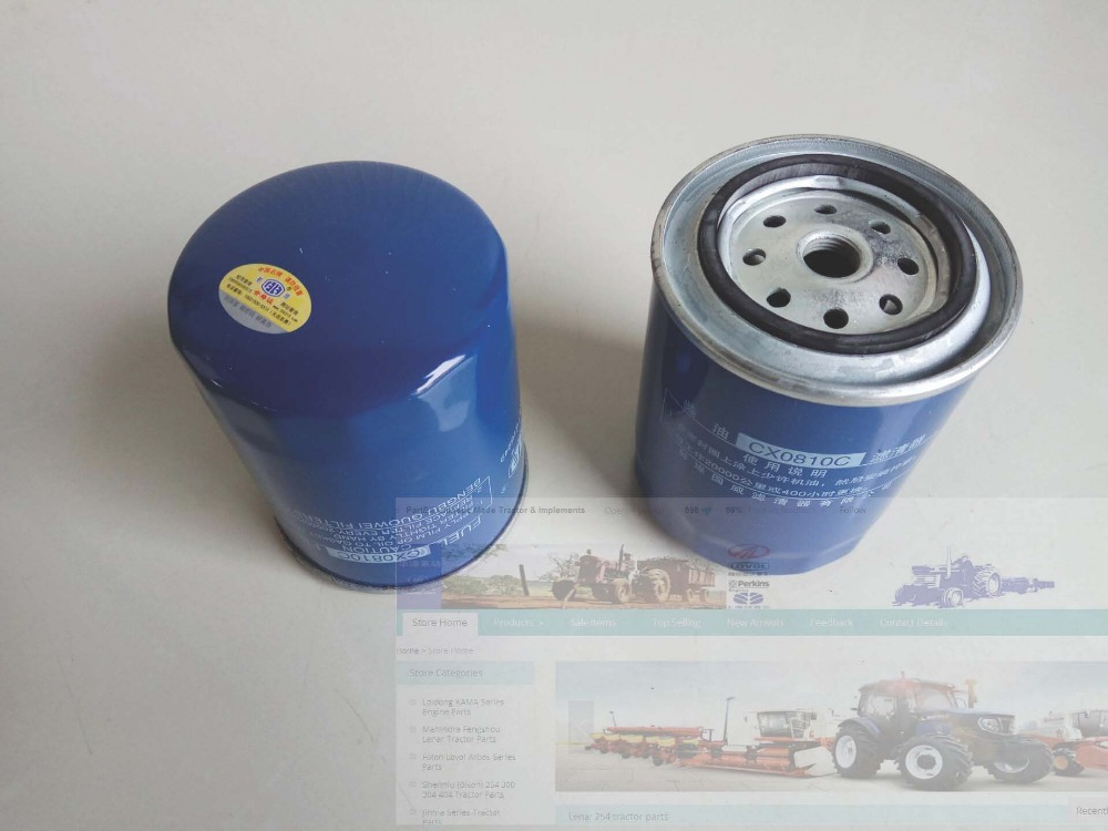 CX0810C, Quanchai engine QC490-498 engine for tractor like Foton and Jinma, the fuel filter element jiangdong engine parts for tractor the set of fuel pump repair kit for engine jd495