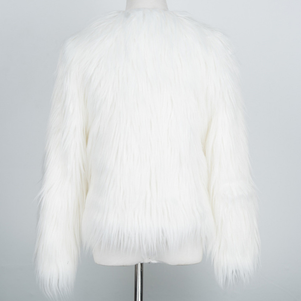 Chic Soft Faux Fur Coat 14