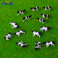 Free shipping 1;150 Farm Animal model for architectural model layout miniature scale model cow 100pcs