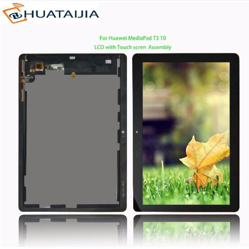 9.6 For Huawei MediaPad T3 10 AGS-L09 AGS-W09 AGS-L03 LCD Display Matrix with Touch Screen Digitizer Sensor Assembly for 9 6 huawei mediapad t3 10 ags l09 ags w09 ags l03 tablet lcd display matrix touch screen panel digitizer sensor replacement