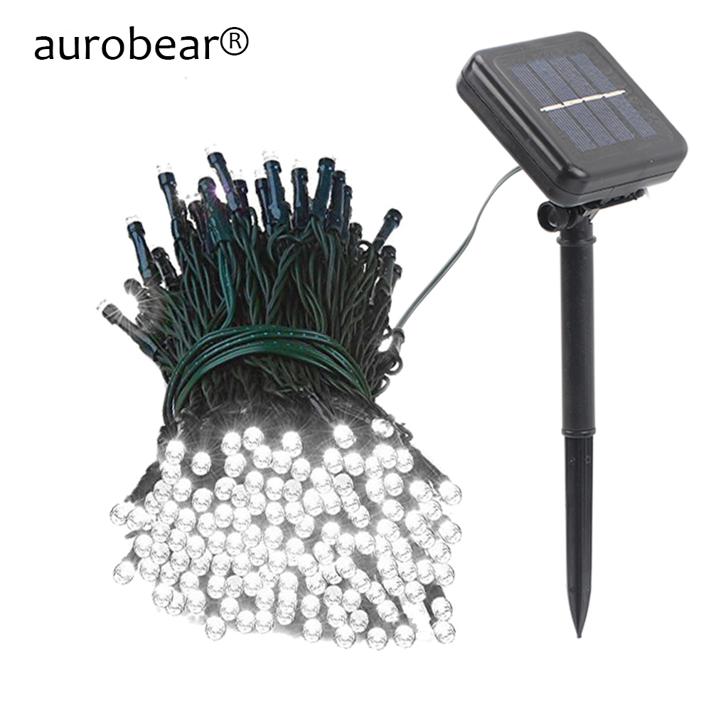 Solar Charge LED String light Outdoor Waterproof Fairy Solar strip light Garden Patio Lawn Yard Christmas Decoration lamp