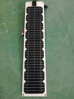 Flexible Solar Panel 12v 20w 40w 60w 80w 100W 18v Waterproof Batterie Solaire Camping Car Caravan Backpack LED Light Boat