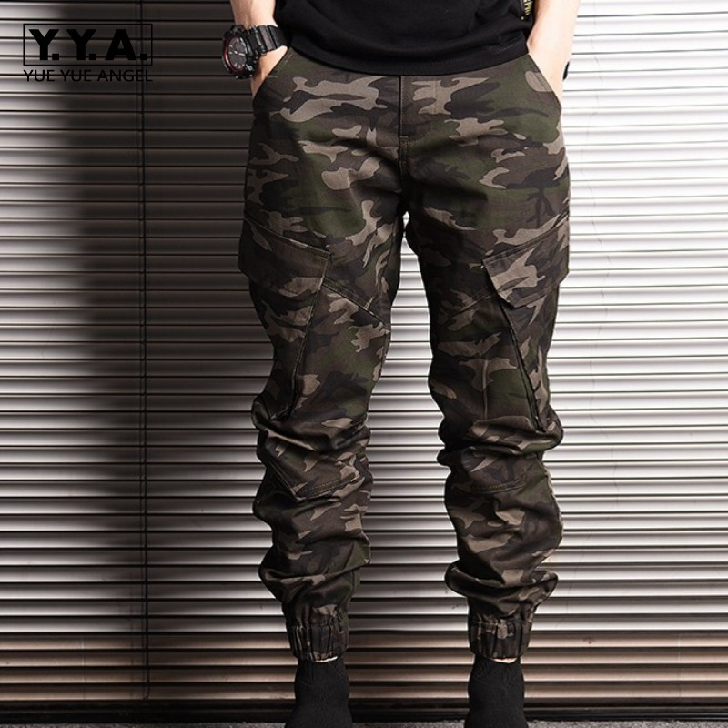 Harem 2 Camo Nueva Hombre Pantalones Tamaño Plus 3 De Moda Algodón Bolsillo 1 Casual 2xl Lápiz Japón M Estilo 2019 pqwIU