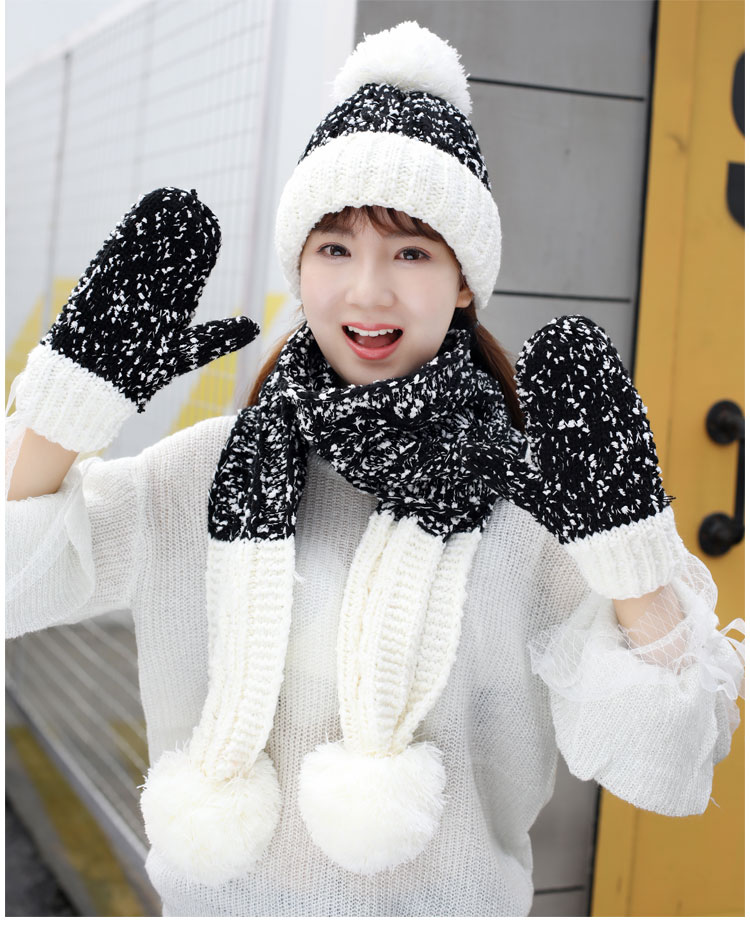 at and scarf set hat and scarf women\`s knitted hat and scarf for women Hat & Glove Sets hat and scarf set winter hat and scarf sets (13)