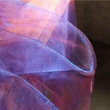 Width 150cm*5m/lot Designer Laser Shiny Holographic Cosplay Decor Gauze For Stage Wedding Diy  Fluorescent Voile Fabrics 2019