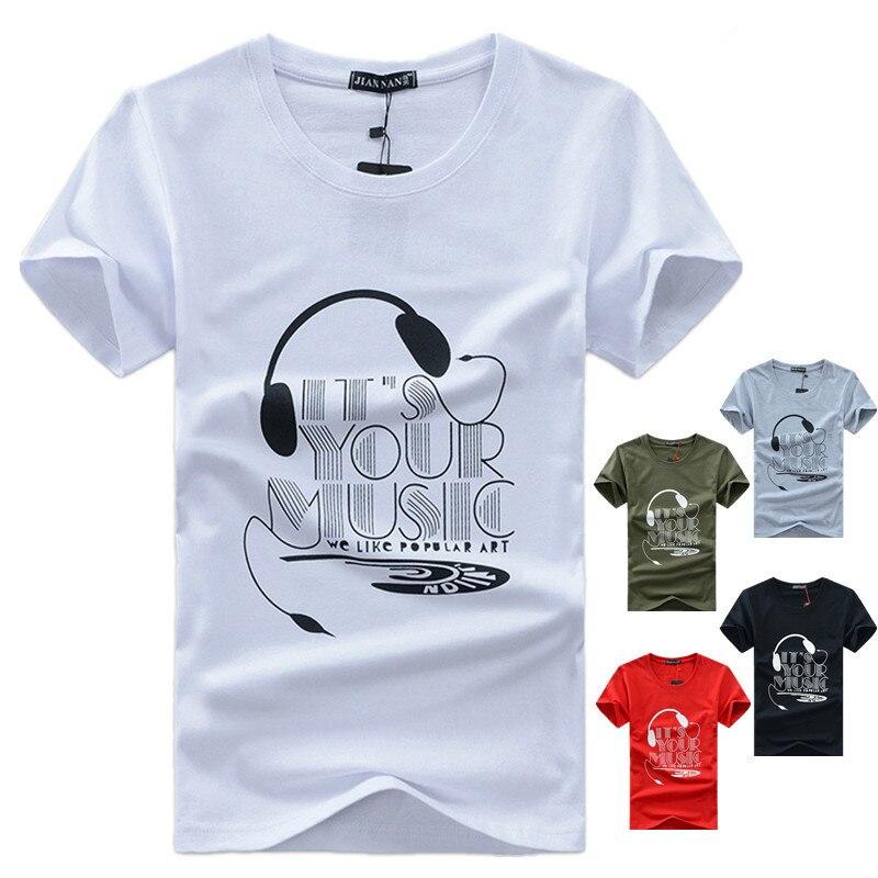 T-shirt men 2017 new fashion printed t-shirts men clothing t shirt men o-neck men t shirt