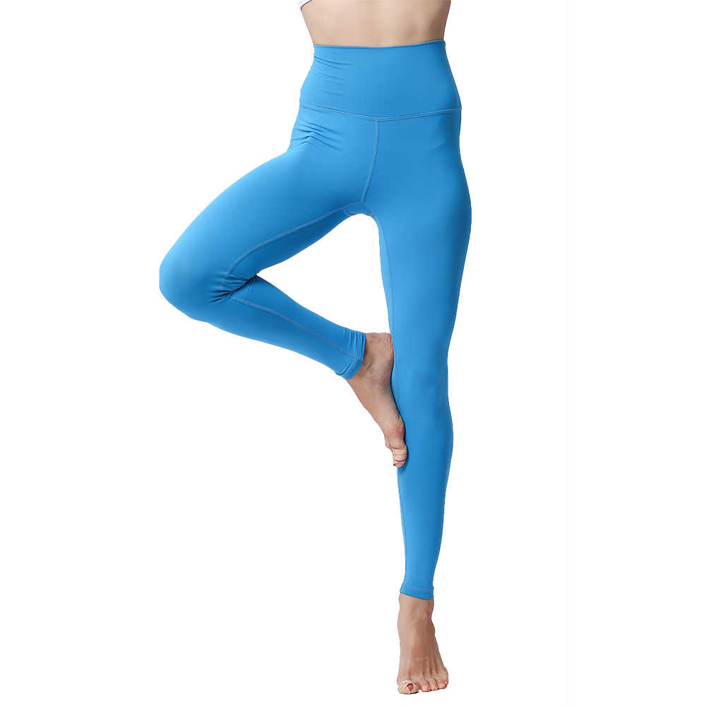 1ca815963e ... Yoga Pants Leggings for Fitness Push Up High Waist Tights Solid  Polyester Running Gym Training Workout ...