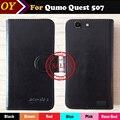 ! 2017 6 Цветов Ультра-тонкий QUMO Quest 507 Case Мода Посвящается Кренометры Кожаный Защитный Телефон Обложка Case Бесплатная Доставка