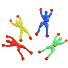 Strange new creative toys Climbing Spider-Man somersault magic sticky climbing Climbing Superman Spiderman people