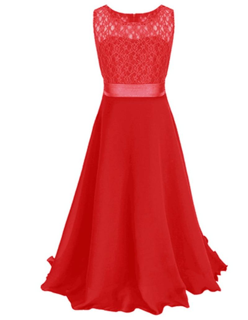 Mode sleeveless kinder kleid für hochzeit abendkleid coral blume ...