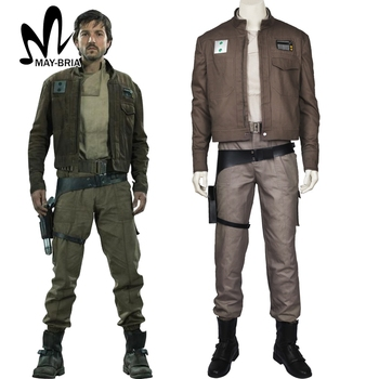 Cassian Andor Cosplay Costume Rogue One A Star Wars Story cosplay Halloween Costumes Cassian Andor outfit superhero costume