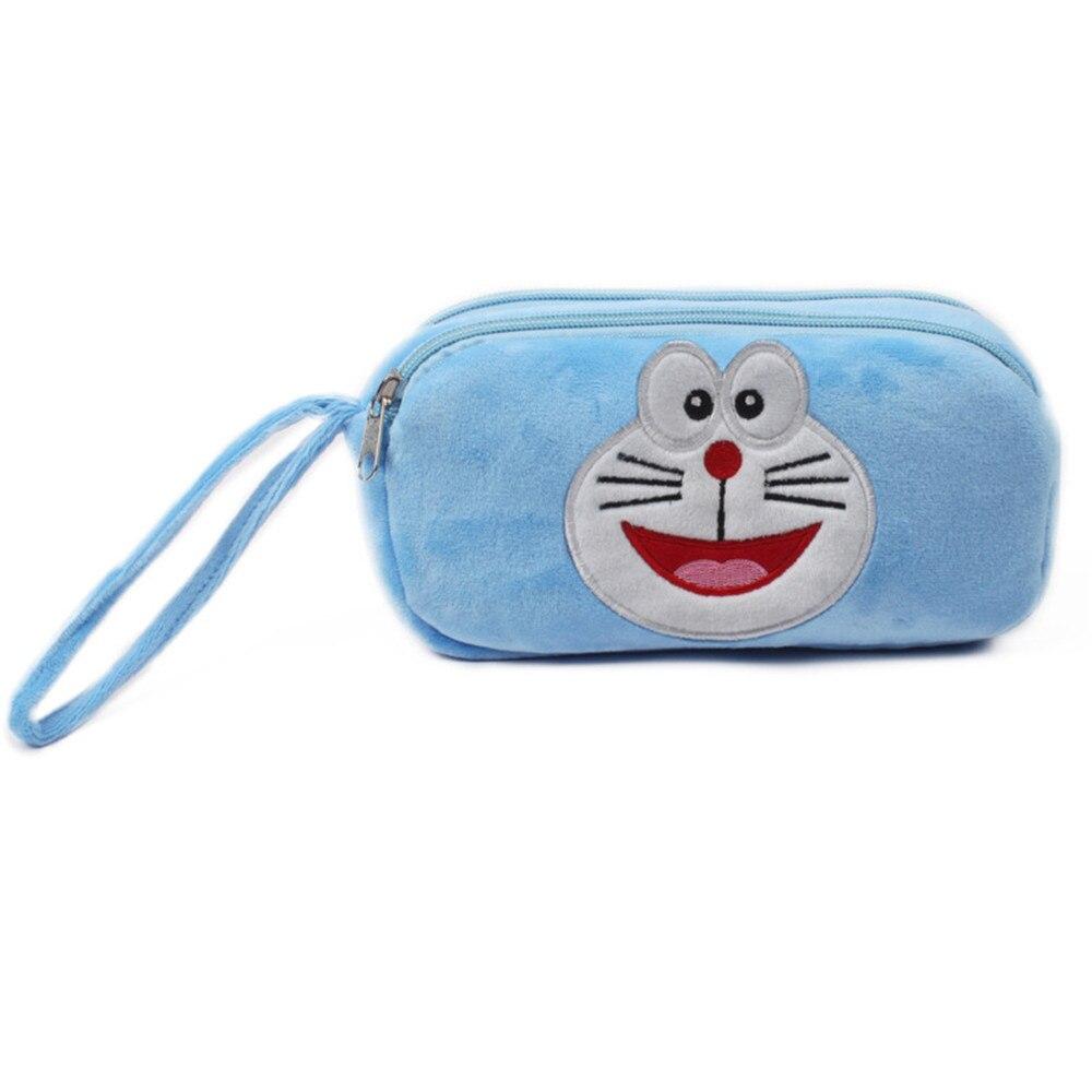 Doraemon Coin Purse Cute Cartoon Coin Purse for Phone Key Chain Hand Take Bag for Kids