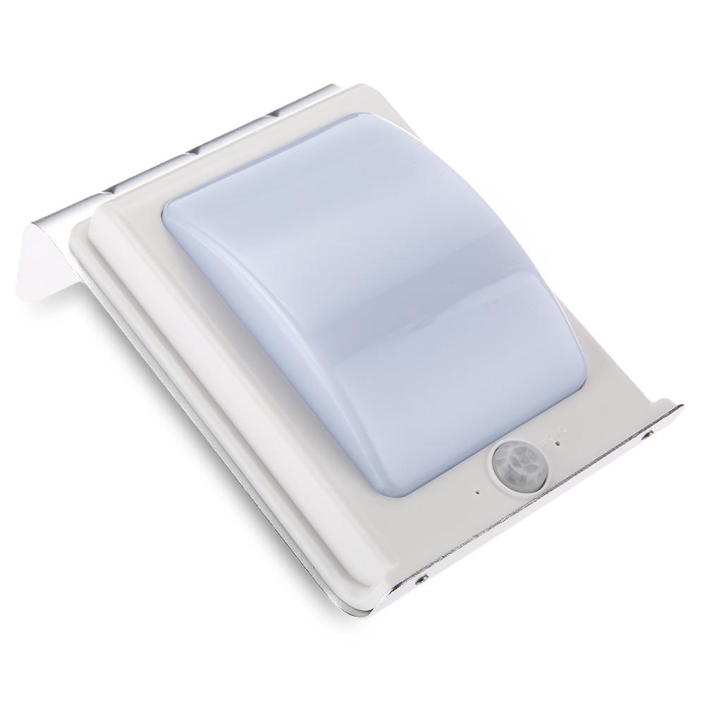 16 Солнечный свет Мощность движения Сенсор свет лампы безопасности Водонепроницаемый напольный Солнечный Освещение для сада улица