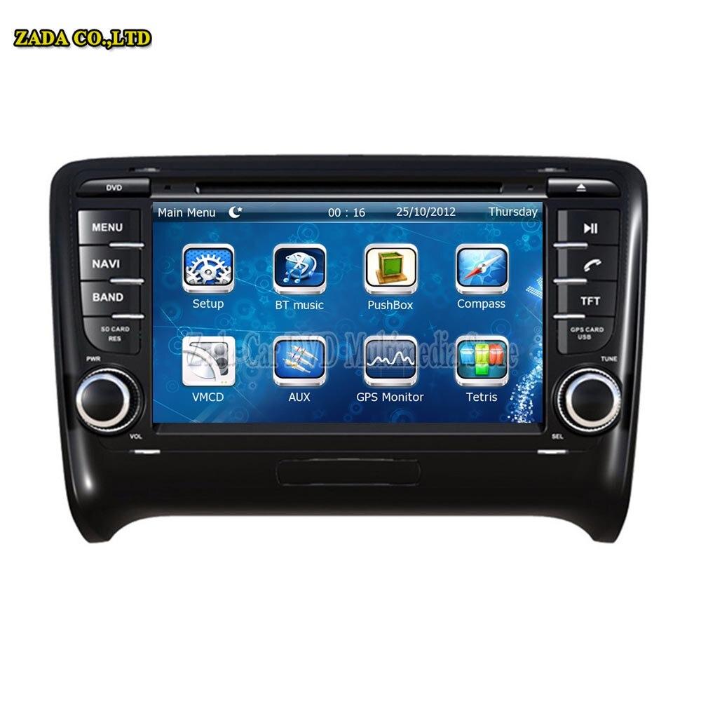 NAVITOPIA 7inch Car Radio GPS For AUDI TT 2006 2007 2008