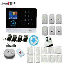 Smart YIBA WiFi GSM GPRS RFID Home Security Alarm System Housen Surveillance Security System Wireless IP