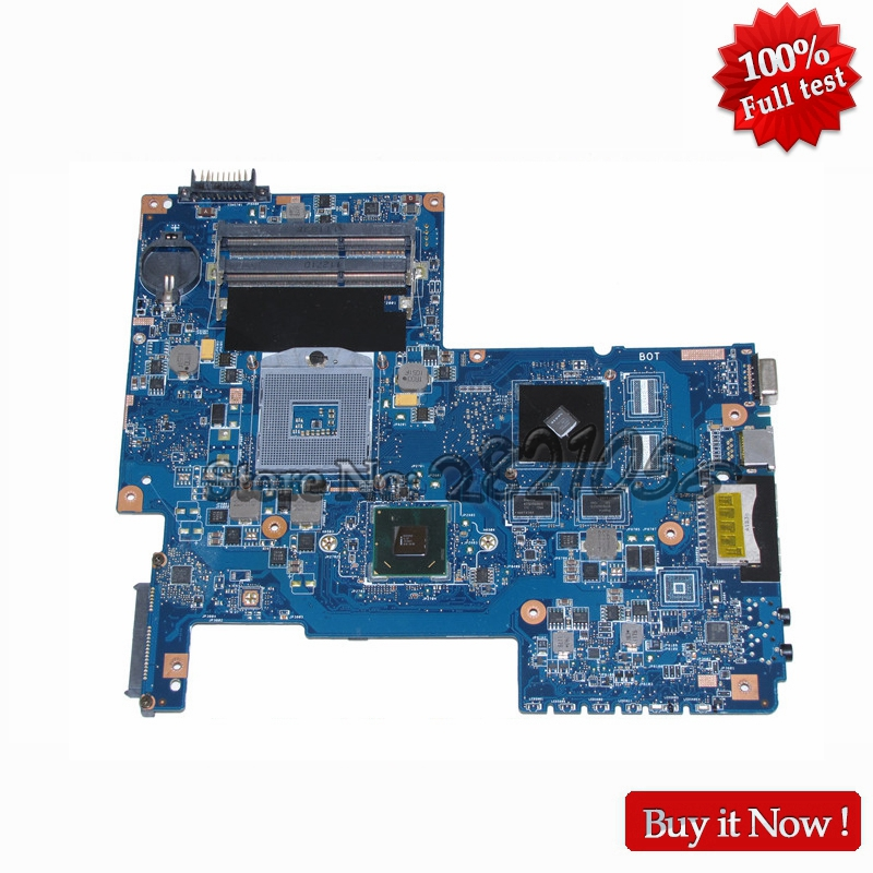 NOKOTION H000033490 For Toshiba Satellite C670 C670-17D Laptop Motherboard HM65 DDR3 GT520M 1GB Video Card nokotion sps v000198120 for toshiba satellite a500 a505 motherboard intel gm45 ddr2 6050a2323101 mb a01