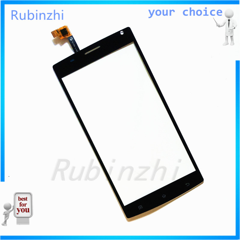 RUBINZHI  Phone Touch Screen Panel For MegaFon MFLoginPh Login Plus Touchscreen Digitizer Front Glass Replacement Sensor+tape Karachi