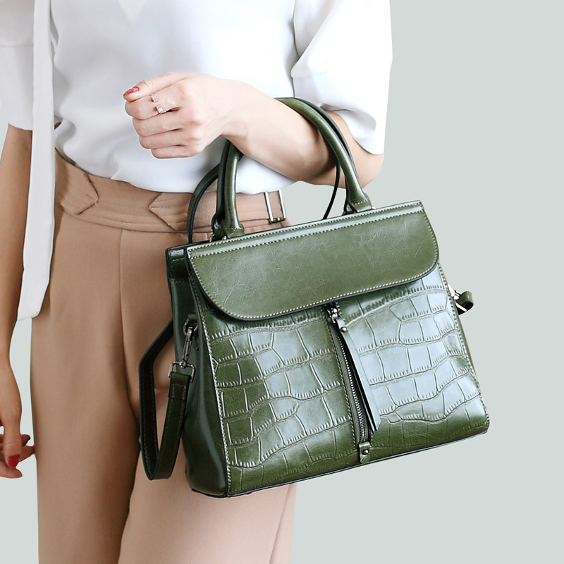 Famous Women Luxury Handbag High-quality Genuine Leather Bag Fashion Women Leather Handbags Women Messenger Bags Bolsas Feminina fashion casual michael handbag luxury louis women messenger bag famous brand designer leather crossbody classic bolsas femininas