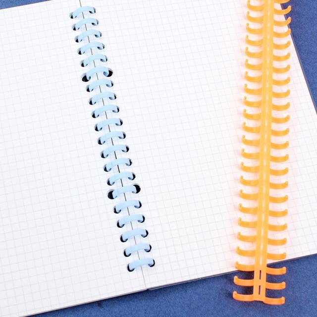 A4/B5/A5 Originale 30 Foro Legante Calendario Cerchio Anello Planner Copertura per Notebook A Spirale Accessorio Copriletto Borsette ufficio Scuola 2