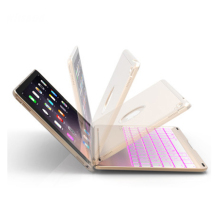 For iPad Pro 9.7 Case Luxury keyboard,Smart Aluminium Backlit Folio Cover Apple Bluetooth Wireless Keybaord