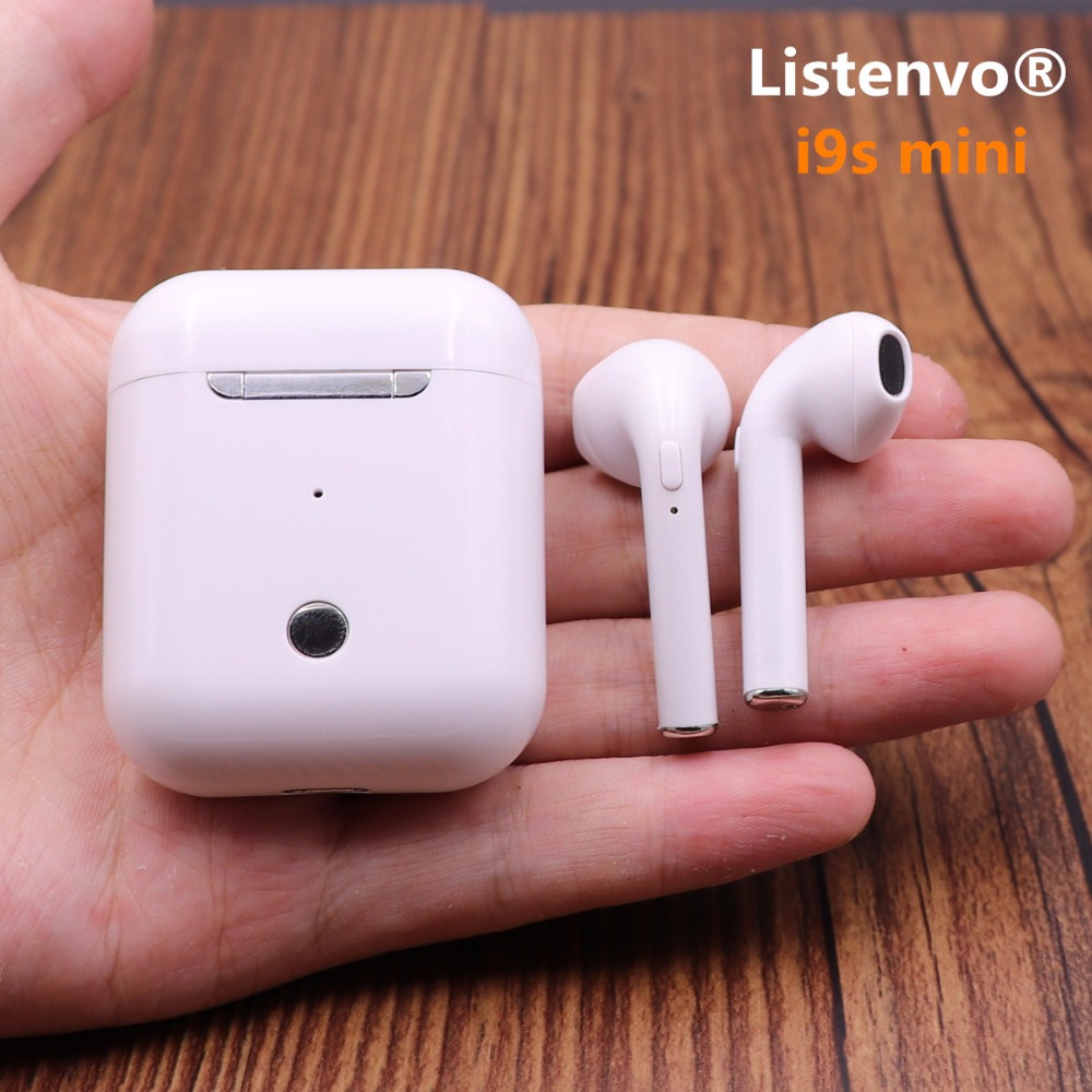 Mini Twins Bluetooth Earphones wireless headphones Air pods In Ear Earbuds sport headset stereo For apple iPhone Samsung xiaomi цена 2017