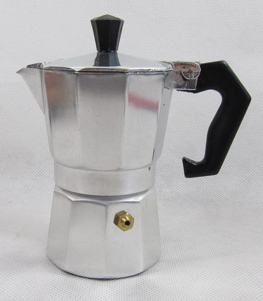 Italian Coffee Maker One Cup : 12pcs/lot 2 cup aluminum Italian coffee stovetop espresso maker moka coffee maker-in Percolators ...