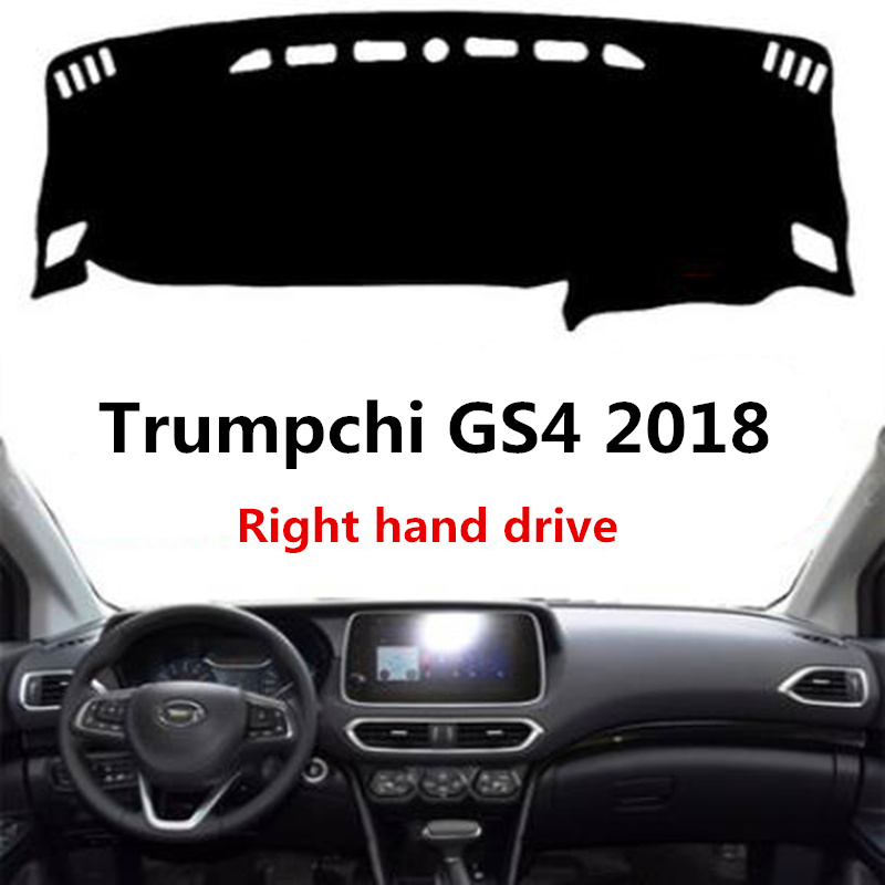 TAIJS Car Dashboard Pad Rug For Trumpchi GS4 2018 Right
