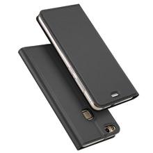 """P10 Lite Cas 2017 De Luxe Flip Étui En Cuir Pour Huawei P10 Lite Portefeuille Livre Couverture Hawei P10 Lite P10Lite 5.2 """"téléphone Cas"""