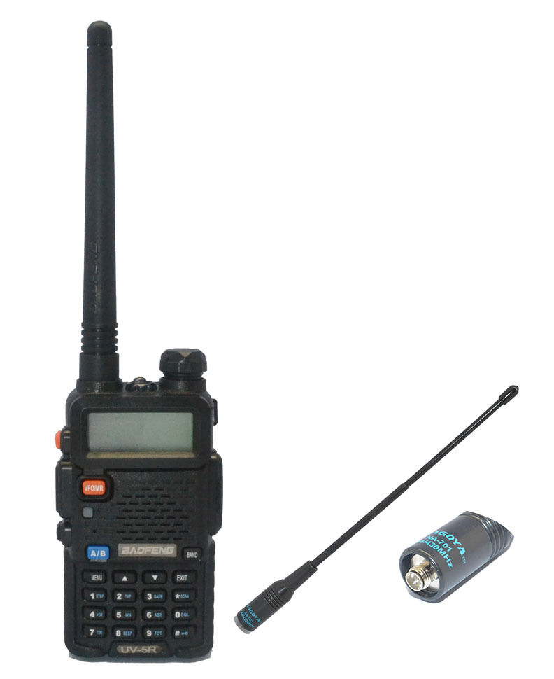Baofeng UV-5R 136-174/<font><b>400</b></font>-520Mhz Dual Band two way Radio+Nagoya 701-F <font><b>antenna</b></font> image