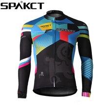 SPAKCT Cycling Comfortable Men's Long Sleeve Jersey -Grasse New bike jacket motorcycle jersey bike clothing cycle jersey