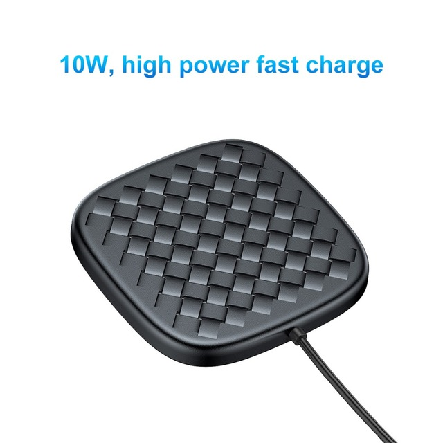 Luxury Grid Ultra-Thin Wireless Charging Pad