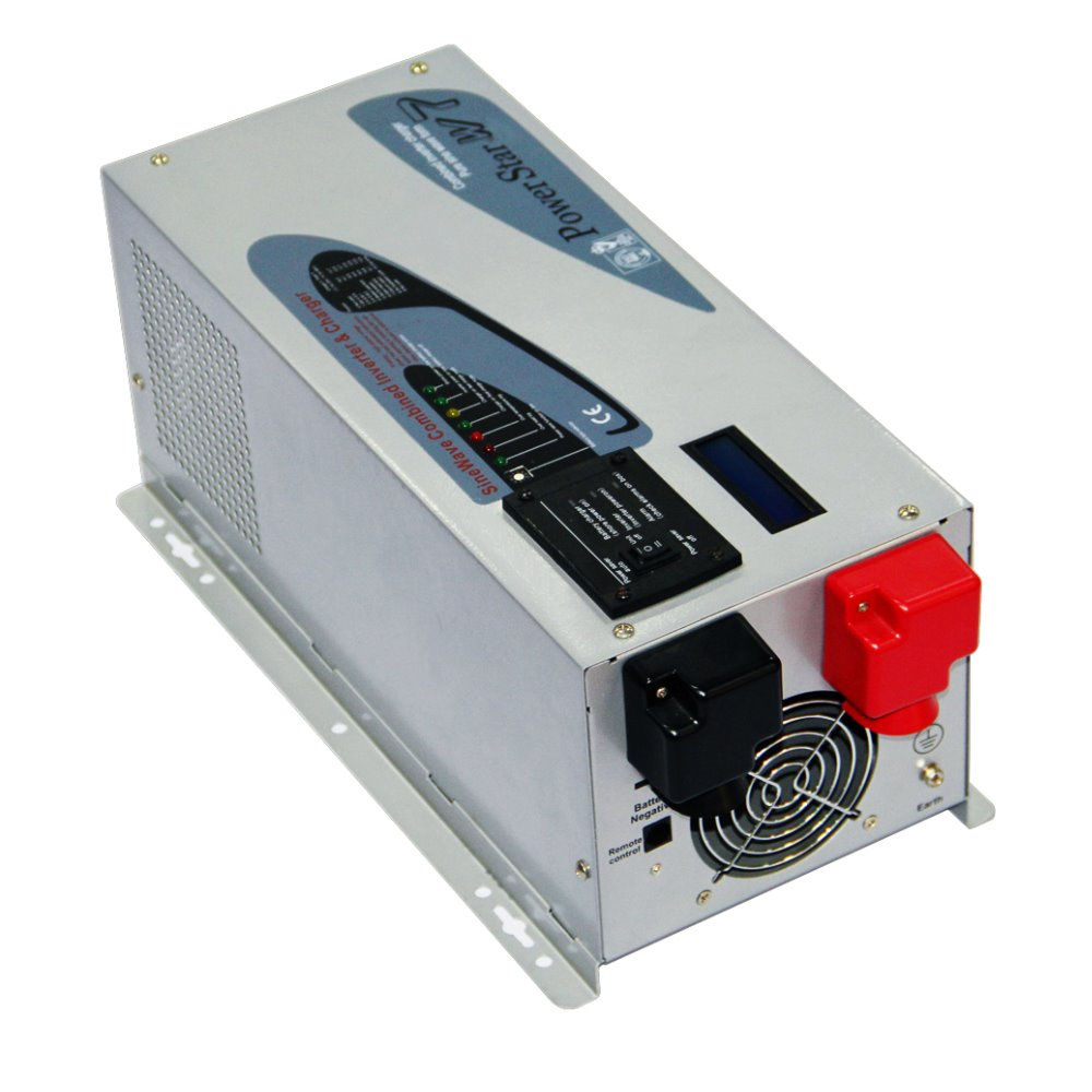 MAYLAR@ 12V,1500W Power Frequency Pure Sine Wave Inverter With Charger ,110V/220V 50Hz/60Hz , For Solar And Wind Off-grid System maylar 1500w wind grid tie inverter pure sine wave for 3 phase 48v ac wind turbine 180 260vac with dump load resistor fuction
