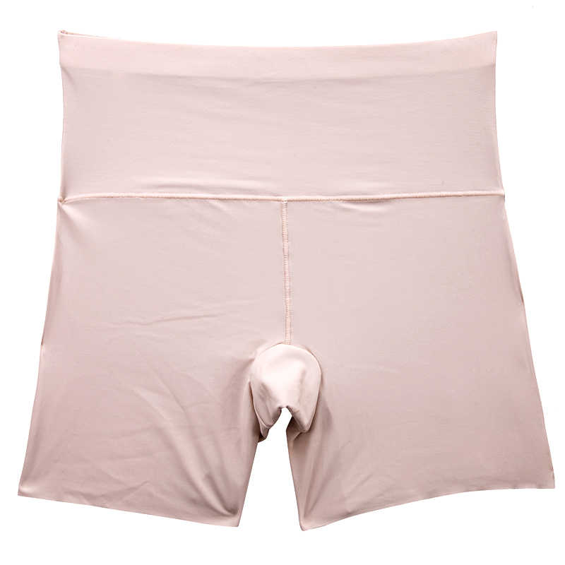 3f1d76045b9 ... Sexy Women's High Waist Safety Short Pants Women Briefs Seamless  Boyshorts Silk Lady Boyshort Black Panties ...