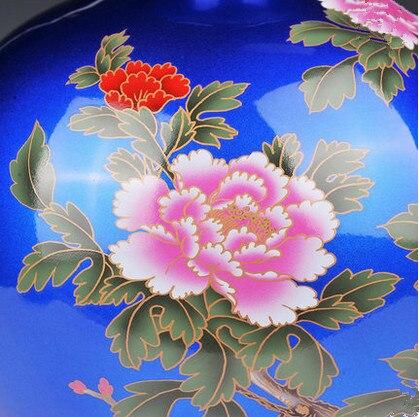 Florero chino antiguo de Jingdezhen para la decoración de la boda - Decoración del hogar - foto 2