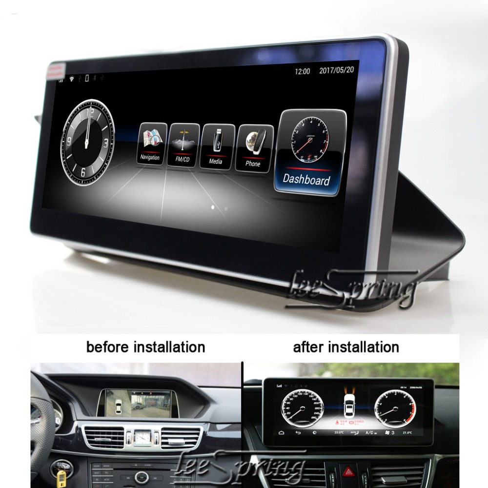 10.25 inch Android System Car GPS Navigation Multimedia Player for Mercedes Benz E Class E250 E260 E300 W212 2013-2015 отсутствует покупаем от а до я 02 29 2010