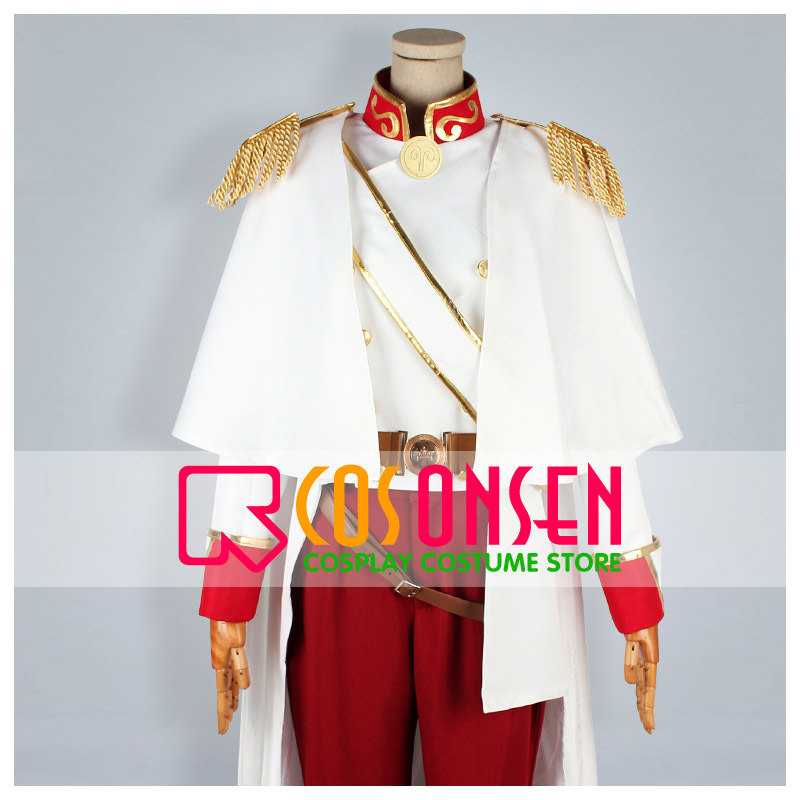 COSPLAYONSEN Wand of Fortune 2FD Julius Fortner Cosplay Costume All Size Custom Made