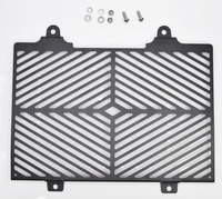 bikeGP Stainless Steel Radiator Guard Security for BMW G310GS G310R 2017+ black