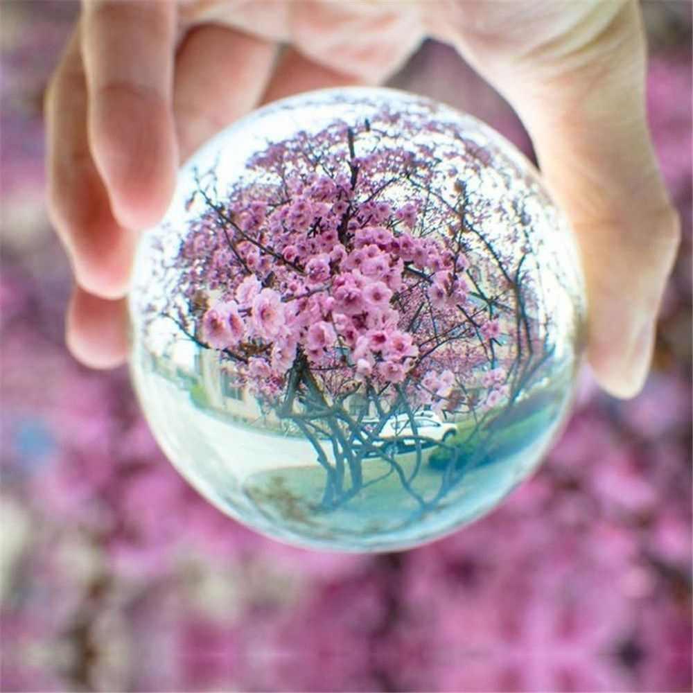 1 pc natural rosa/roxo ametista quartzo pedra esfera criativo cristal fluorite bola cura cristal decoração accessiories