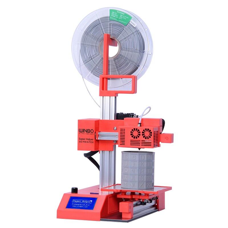 2018 Высокое качество Самый дешевый SH105/SH105L 3D-принтеры показывал Размеры 105*105*155 мм можете добавить лазерного Резка лазерная гравировка Функци...