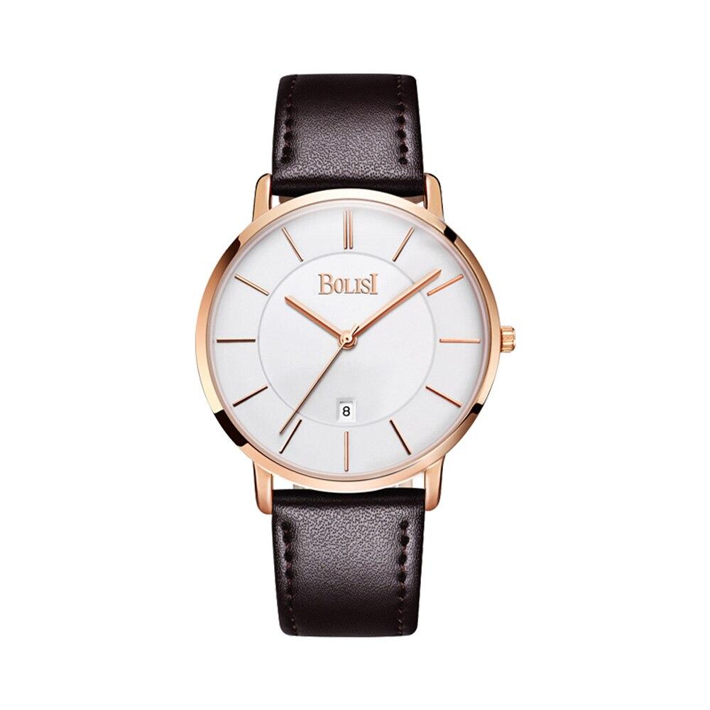 Fashion Luxury Brand Men Waterproof Military Sports Watches Men's Quartz Digital Leather Wrist Watch
