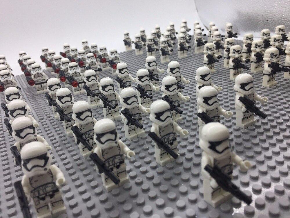 21PCS Star Wars Storm Clone Trooper Commander LEGOING Captain Rex Storm Building Blocks Blocks DIY Action Best Gift Baby Toys