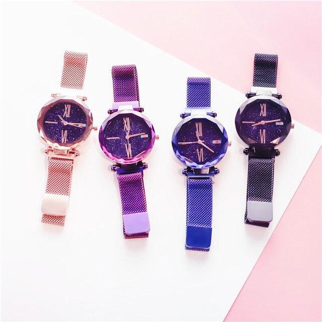 Fasihon Women Watches 4 models Lady Clock