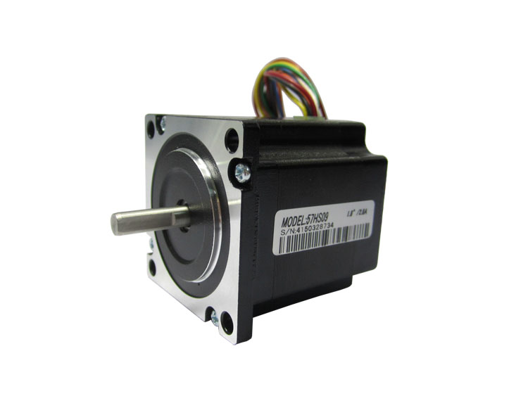 New 2-phase hybrid stepper motor 57HS09 have 8 leads /Current /phase 2.8A /Holding Torque 0.9N size NEMA 23 stepper motor  цена и фото